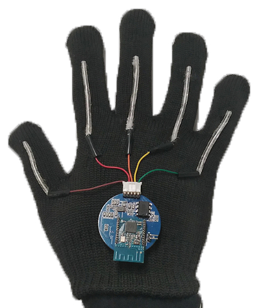 The smart glove.