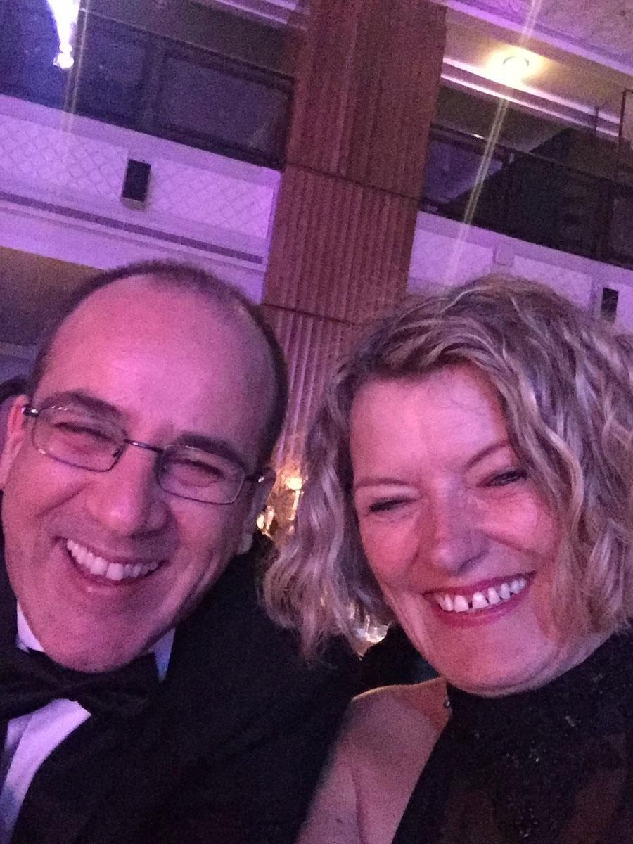 Mark and Denise at the 2017 Packaging Awards