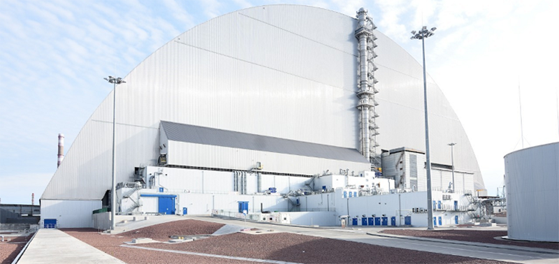 The New Safe Confinement at Chernobyl